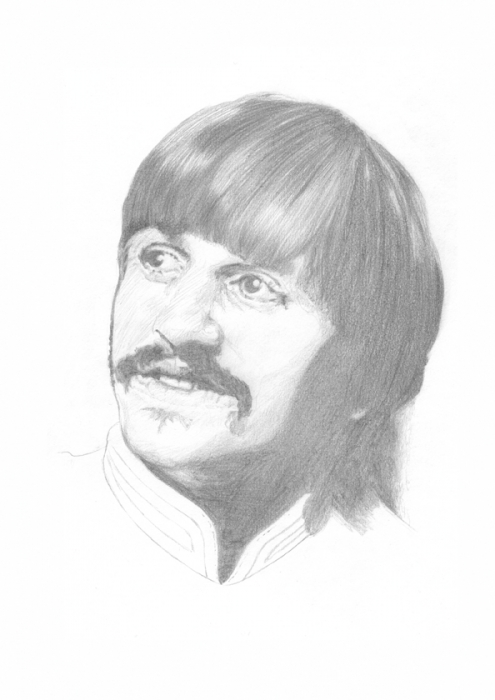 Ringo Starr by Seags